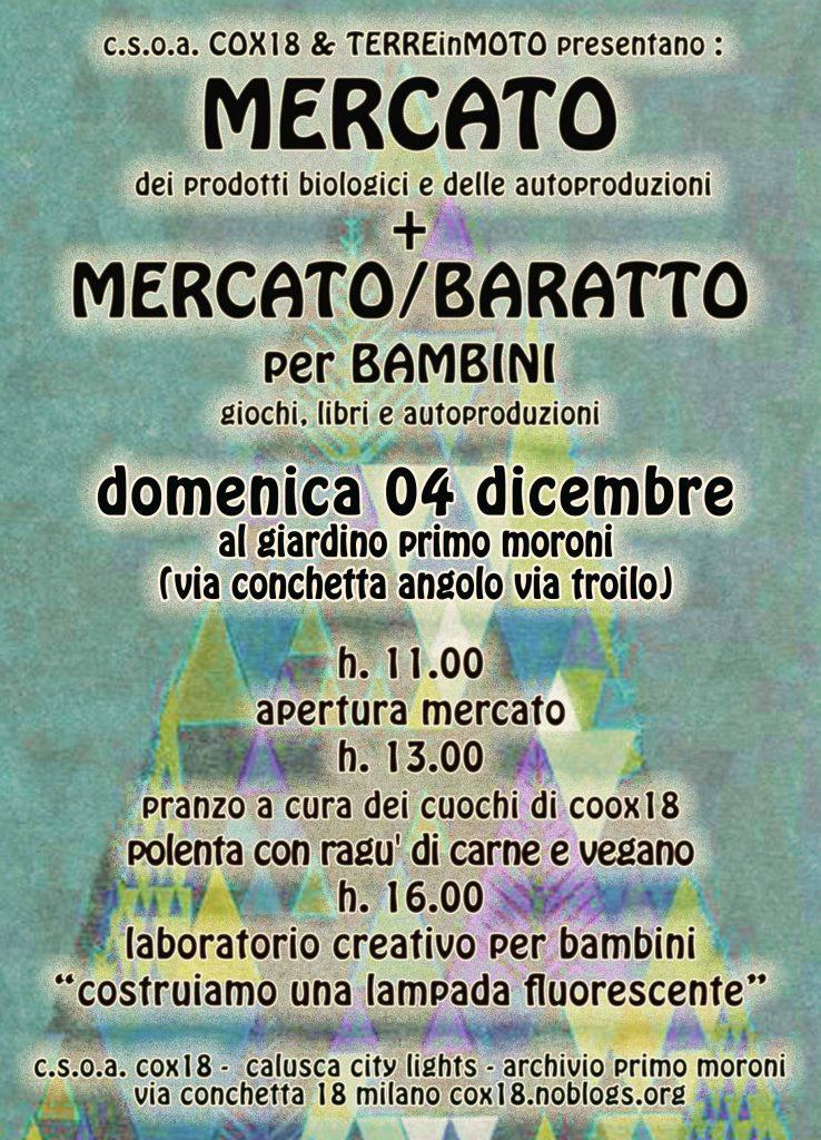 Domenica 2 Aprile Mercato in Conchetta
