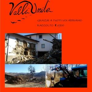 Un aiuto dopo il terremoto Grazie a tutti voi!