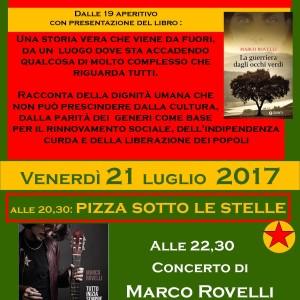 21 LUGLIO Marco Rovelli a Valli Unite