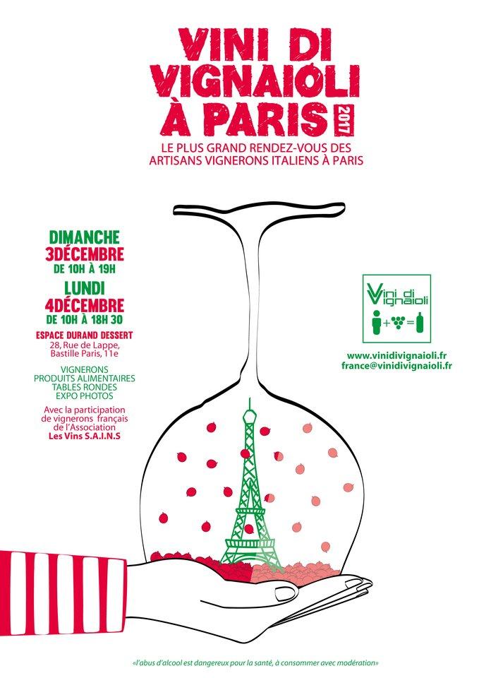 3 e 4 Dicembre Vini di Vignaioli Paris