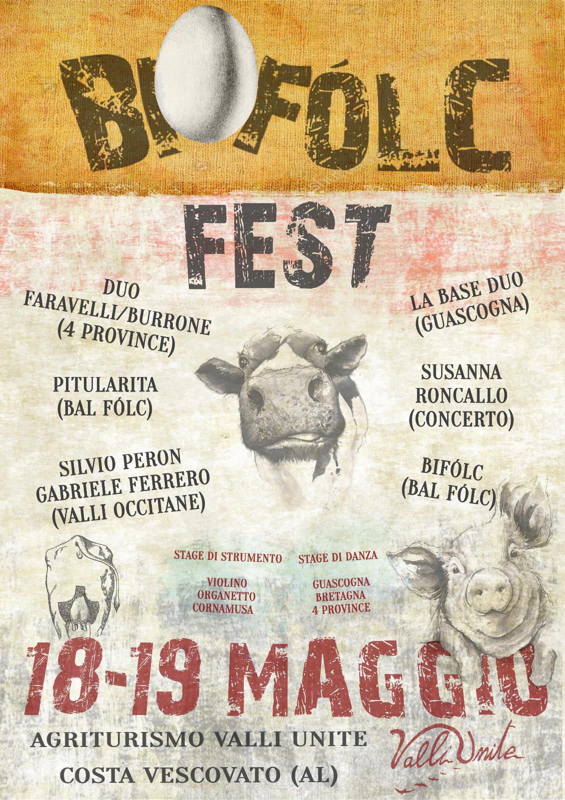 18 e 19 Maggio BIOFOLC FEST