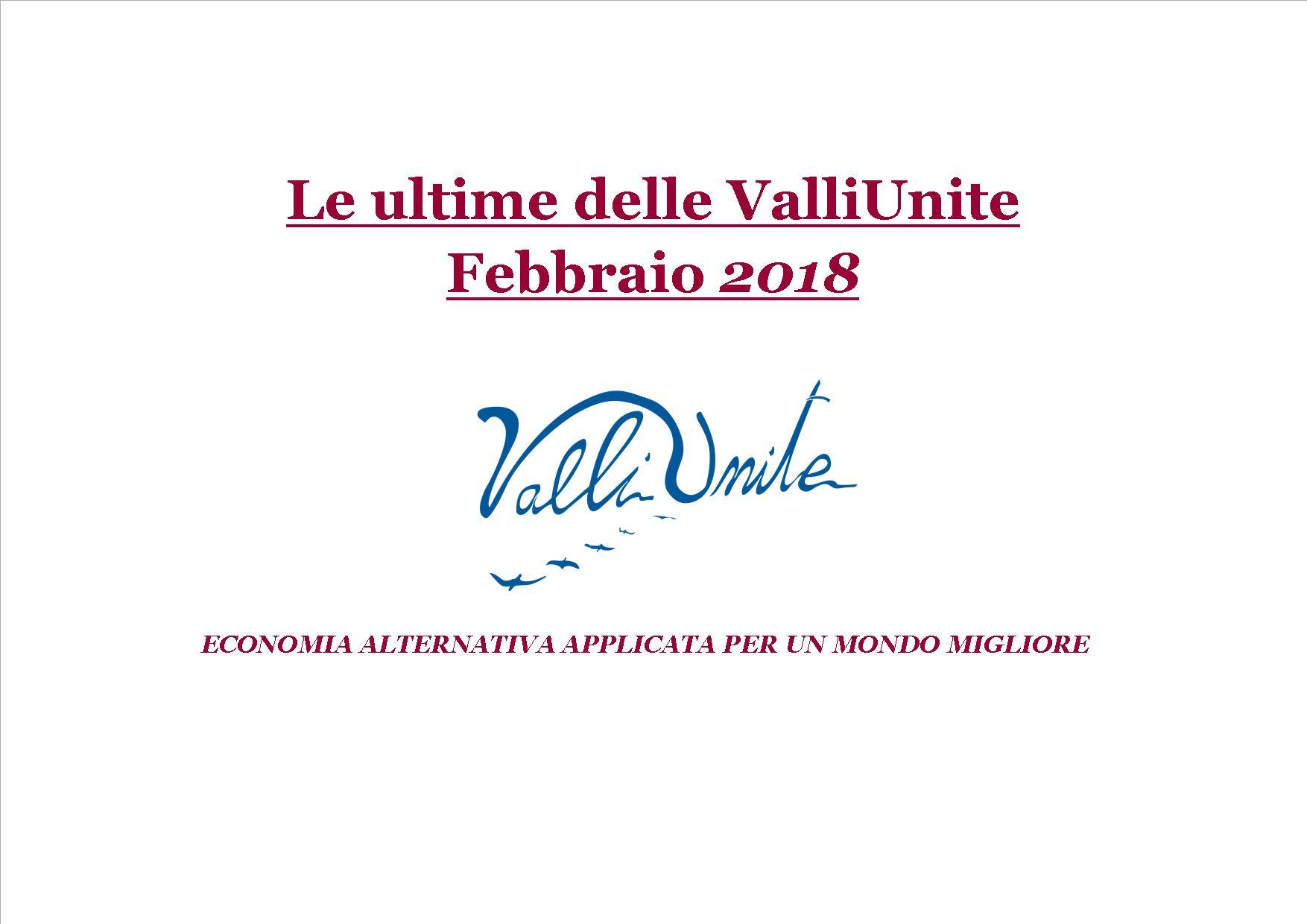 Le Ultime delle Valli Unite Febbraio 2018