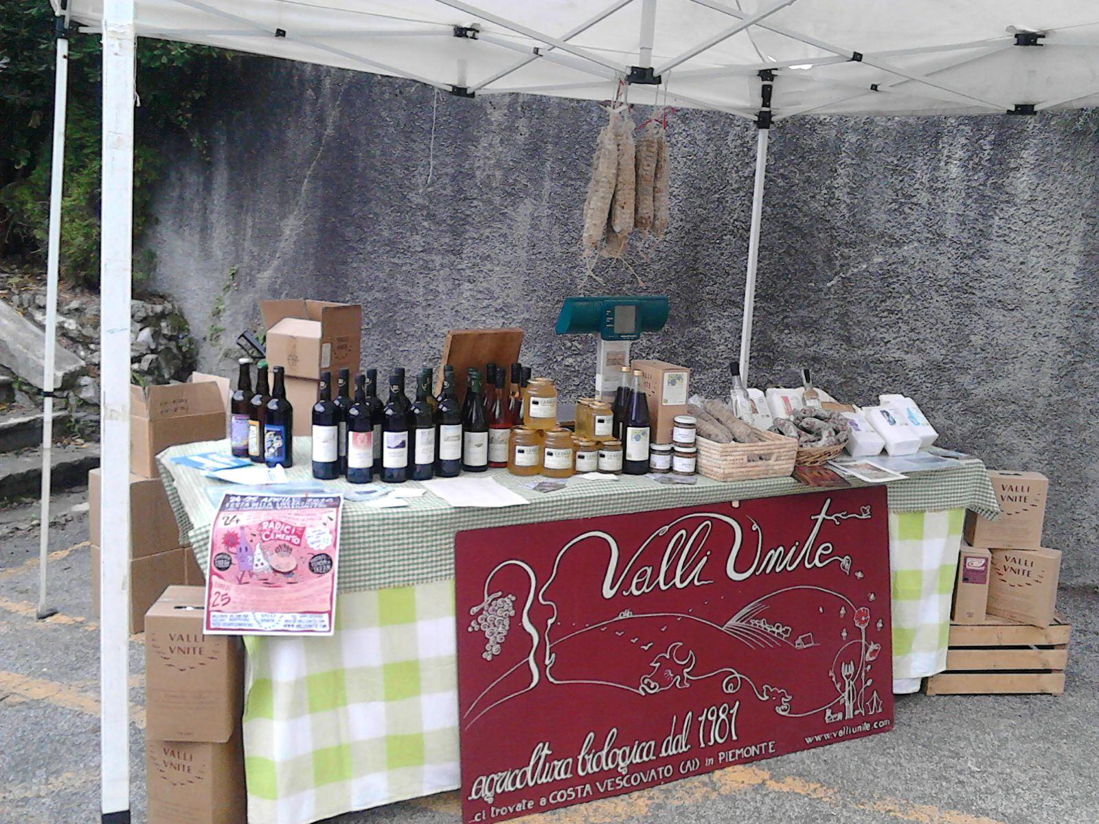 Mercato dei produttori -Rebbio -Como