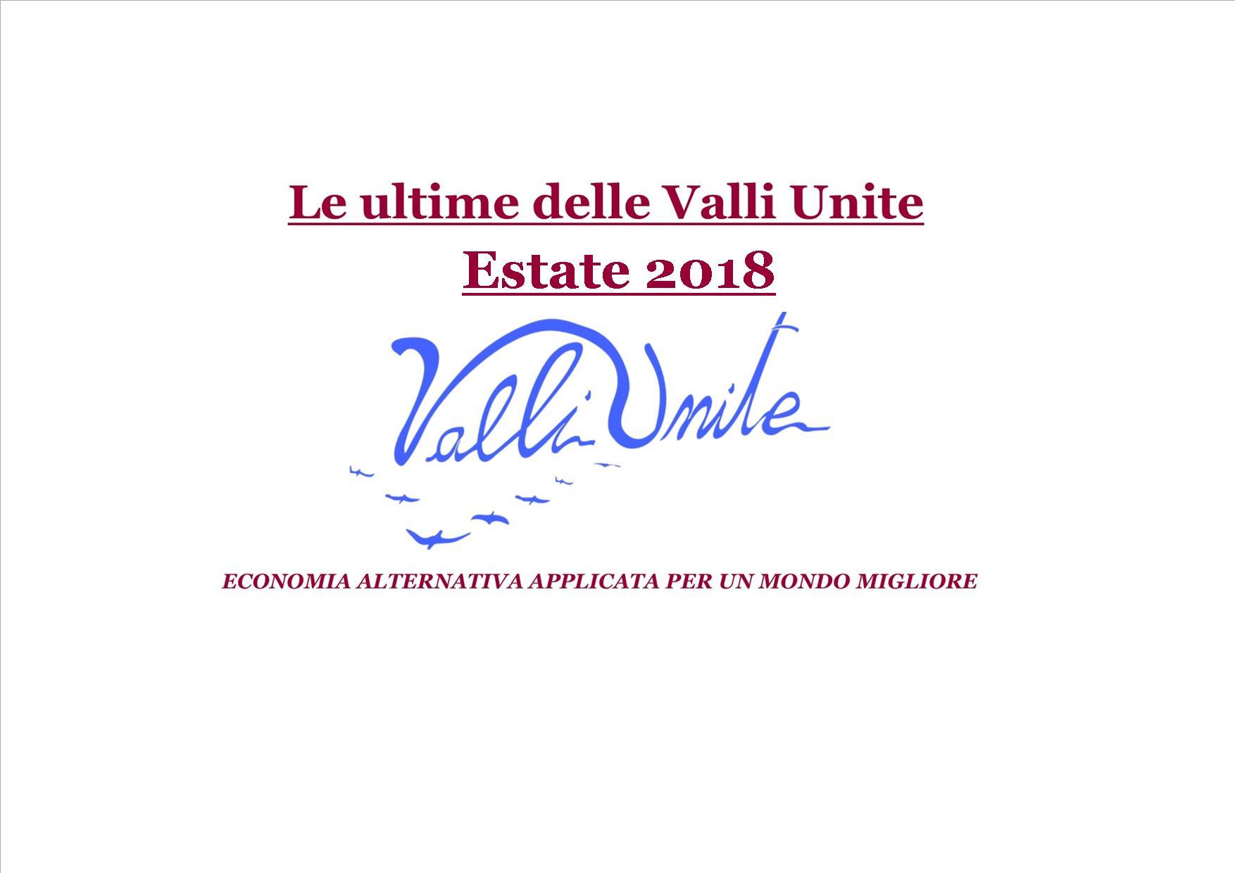 Le Ultime delle Valli Unite Estate 2018