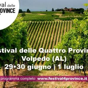 Festival delle 4 Province 29,30 Giugno 1 Luglio