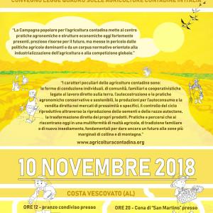 10 Novembre San Martino Capodanno Contadino
