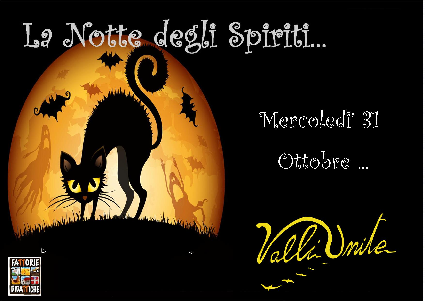 31 Ottobre  La Notte degli Spiriti
