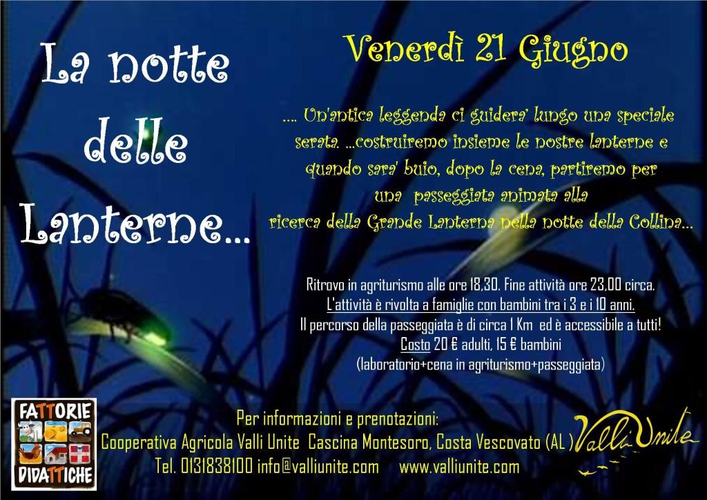 La notte delle lanterne 21 giu2019