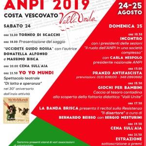 Festa dell'ANPI 24 e 25 Agosto