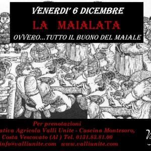 Venerdì 6 Dicembre, La Maialata